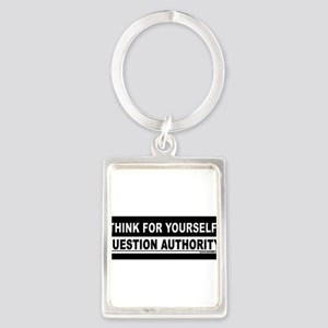 ThinkForYourself Sticker Bumper Keychains