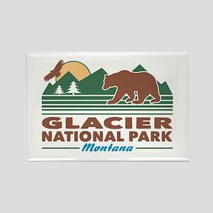 Glacier National Park Rectangle Magnet
