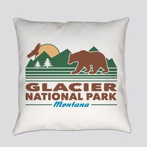 Glacier National Park Everyday Pillow