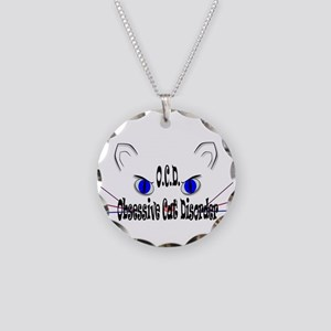 O.C.D. Obsessive Cat Disorder Necklace