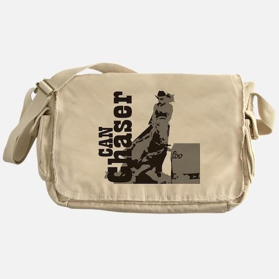 Funny Barrel racing Messenger Bag