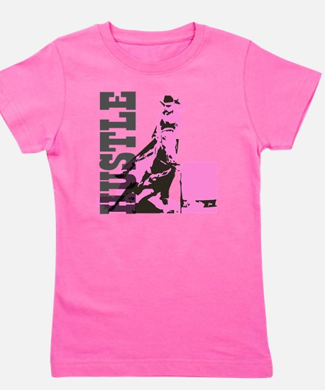 Funny Barrel racing Girl's Tee