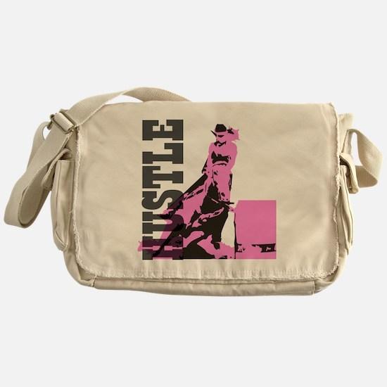 Cute Barrel racing Messenger Bag