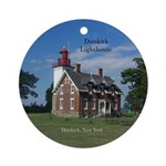 Dunkirk Lighthouse Round Ornament