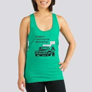 Support Continuing Education Racerback Tank Top