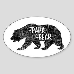 Papa Bear - Family Shirts Sticker