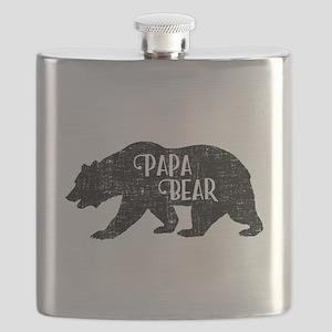 Papa Bear - Family Shirts Flask
