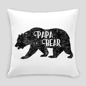 Papa Bear - Family Shirts Everyday Pillow