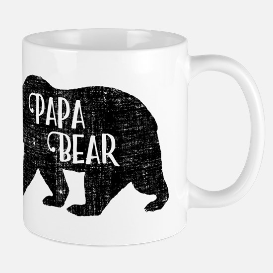 Papa Bear - Family Shirts Mugs