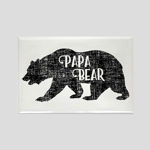Papa Bear - Family Shirts Magnets