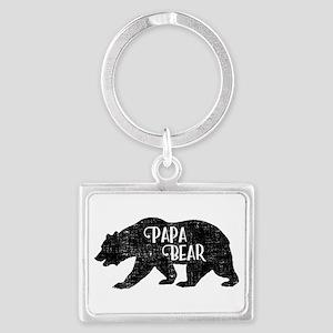 Papa Bear - Family Shirts Keychains