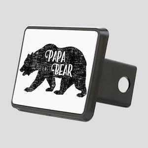 Papa Bear - Family Shirts Rectangular Hitch Cover