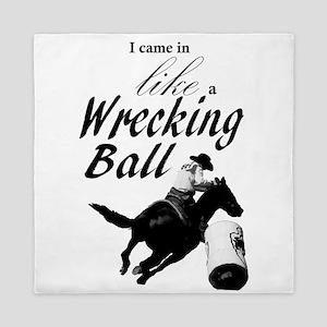 Barrel Racer: Wrecking Ball Queen Duvet