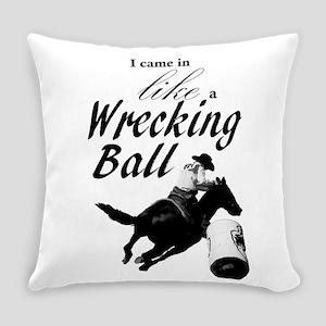 Barrel Racer: Wrecking Ball Everyday Pillow