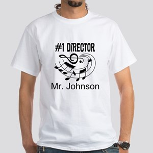 Personalized Music Director T-Shirt