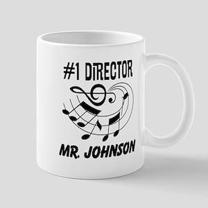Personalized Music Director Mugs