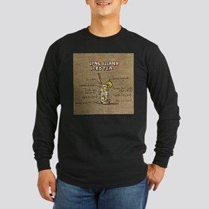 Long Island Iced Tea (Canvas) Long Sleeve T-Shirt