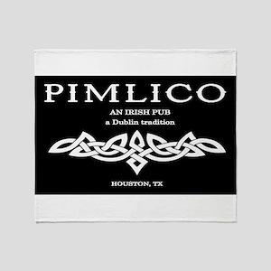 Pimlico Logo Throw Blanket