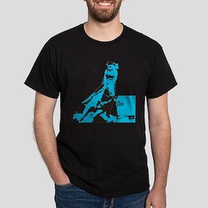Barrel Racer: Turquoise T-Shirt