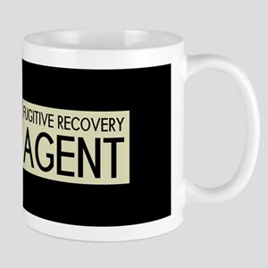 U.S. Flag & Fugitive Recovery Agent (Sand) Mugs