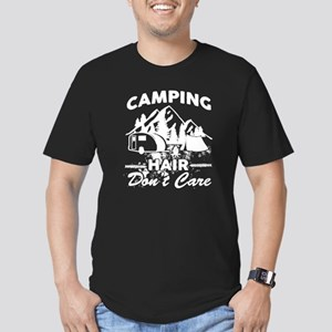Camping Hair Don't Care T Shirt T-Shirt