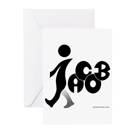 Jacob Black Design Greeting Cards (Pk of 10)