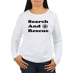 Search And Rescue Women's Long Sleeve T-Shirt