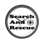 Search And Rescue Wall Clock