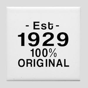 Est.Since 1929 Tile Coaster