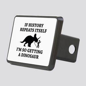 History Repeats Rectangular Hitch Cover