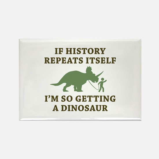 History Repeats Rectangle Magnet (10 pack)