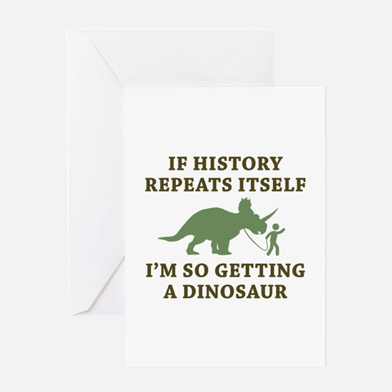 History Repeats Greeting Card