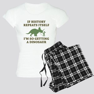 History Repeats Women's Light Pajamas