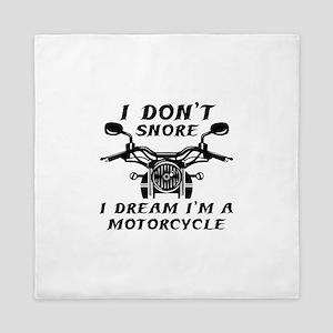I Don't Snore Queen Duvet