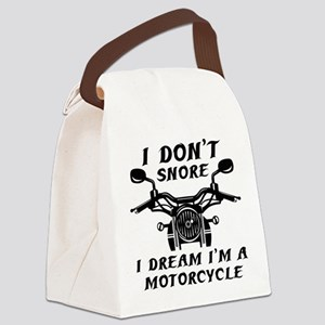 I Don't Snore Canvas Lunch Bag