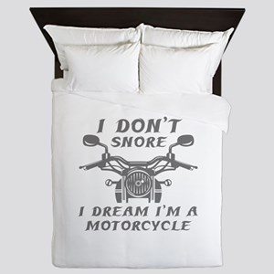 I Don't Snore Queen Duvet