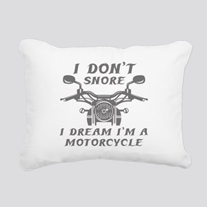 I Don't Snore Rectangular Canvas Pillow
