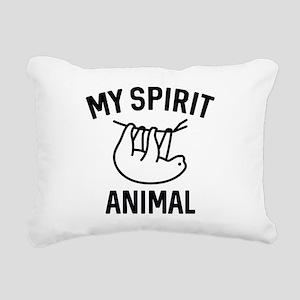 My Spirit Animal Rectangular Canvas Pillow