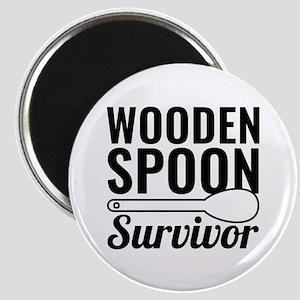 Wooden Spoon Survivor Magnet