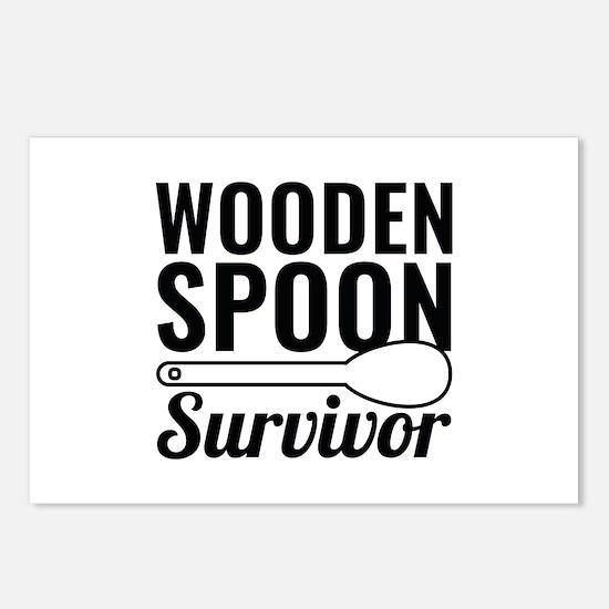 Wooden Spoon Survivor Postcards (Package of 8)