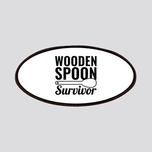 Wooden Spoon Survivor Patches