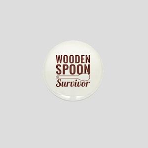 Wooden Spoon Survivor Mini Button
