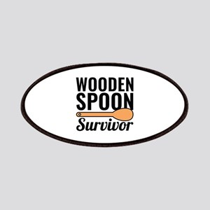 Wooden Spoon Survivor Patches