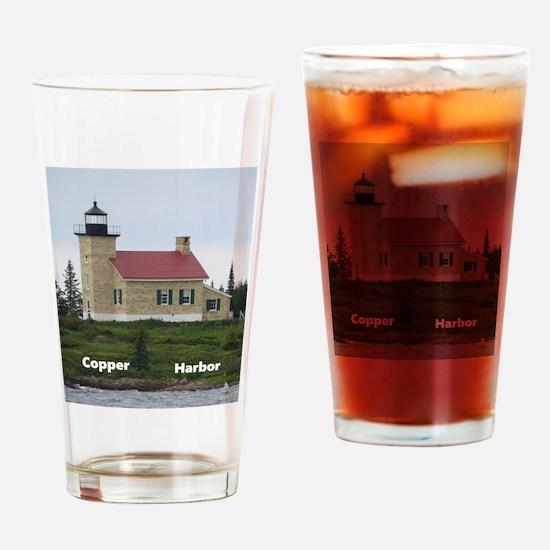 Copper Harbor Drinking Glass