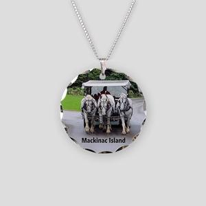 White Horses Necklace