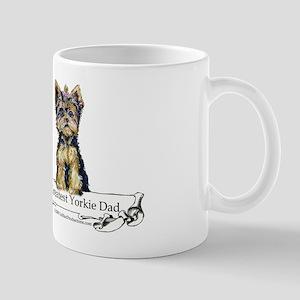 Yorkshire Terrier Dad! Mugs