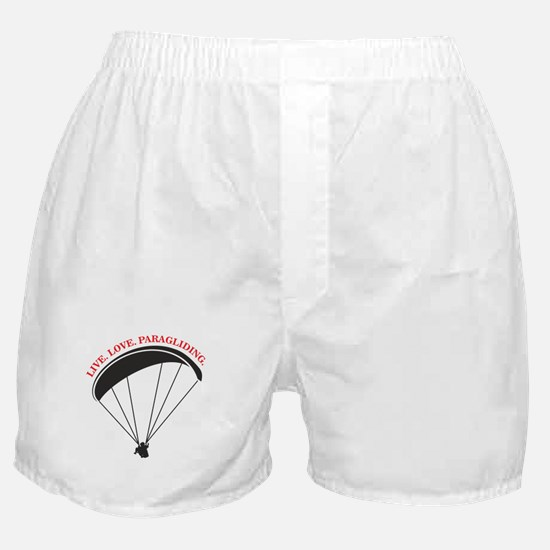 live love paragliding Boxer Shorts
