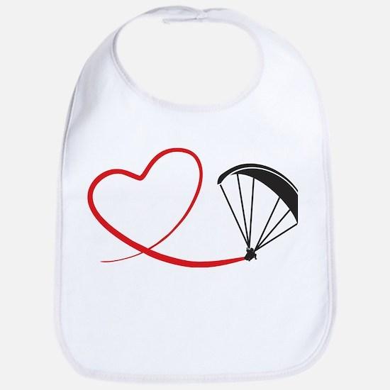 love paragliding Baby Bib