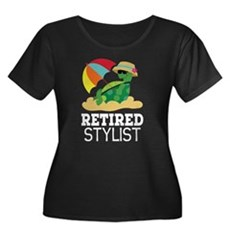 Retired Stylist Gift Plus Size T-Shirt