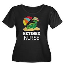 Retired Nurse Gift Plus Size T-Shirt